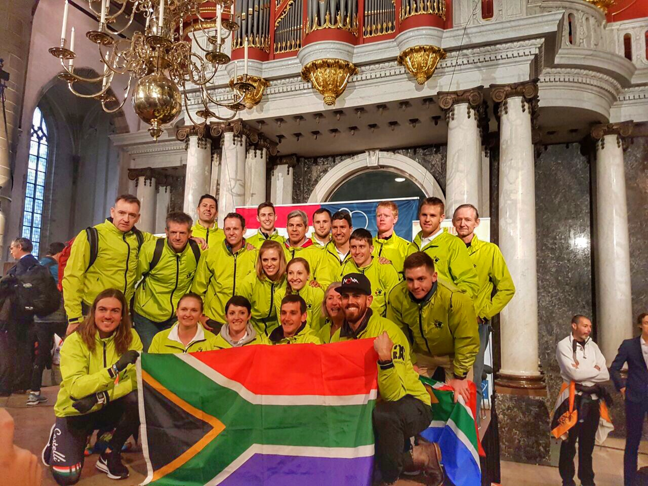 ITU World Champs Rotterdam - Team SA